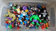 Superhero collection (terryfay1983) Tags: big lego superhero minifigs dccomics marvel figs legominifigure afol minifigures legophotography dcsuperhero dcvillans legomarvel brickstories flickrfol