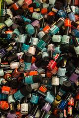Rimmel (Michael E Flack) Tags: bottle market nail varnish rimmel birminghambullringragmarket