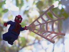 Spiderman in action (kelko585) Tags: lego minifigure minifig marvel spiderman afol superhero