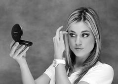 Claudia (Oliver Leveritt) Tags: blackandwhite monochrome nikond60 afsdxvrnikkor55200mmf456gifed oliverleverittphotography nikoncls creativelightingsystem offcameraflash flash su800 sb800 sb600 brolly umbrella photeksoftlighteriisl500046inch prettylady female gorgeous girl portrait su800wirelessspeedlightcommander cls