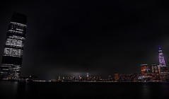 Night Lights #nyc #nyharbour #wideangle #Canon6D (join.mohammed) Tags: nyc wideangle nyharbour canon6d