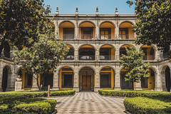 San Ildefonso (FridArmenta Fotografa) Tags: lines architecture arquitectura place symmetry formas lugar lineas figura simetra cdmx fridarmenta