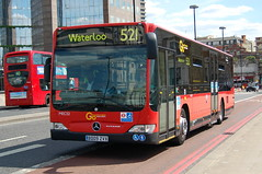 Go Ahead LG Mercedes MEC32 BD09ZVX - London (dwb transport photos) Tags: bus london mercedesbenz londongeneral goahead citaro mec32 bd09zvx