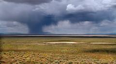 Desert Thunderstorm (arbyreed) Tags: sky storm rain clouds thunderstorm raining darkclouds millardcountyutah arbyreed desertthunderstorm pahvantvalley