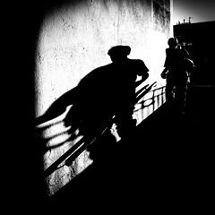 Ominous (BazM:Photog.......:-)) Tags: shadow blackwhite blancoynegro bazmatthews innamoramento