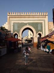 Fes El Bali Morocco-Medina-Bab Boujloud.1-2016 (Julia Kostecka) Tags: morocco medina fes bluegate feselbali babboujloud