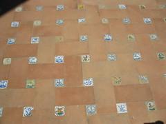 Les faux petits azulejos (Manon Allais) Tags: faence vacances casa sevilla spain holidays azulejo espagne couleur sville casadepilatos