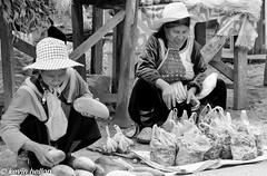 Hilltribe women selling vegetables near Chiang Dao (HellonEarth2006) Tags: women hilltribe vegetables thailand chiangdao