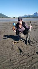Clamming in Lake Clark NP - Alaska