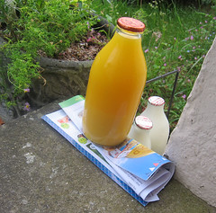 Good Morning (ohange2008) Tags: orangejuice doorstep milkman milkmore