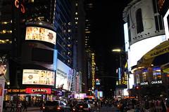 Looking down W. 42nd Street in midtown Manhattan (Hazboy) Tags: new york city nyc usa ny apple rock america square us big manhattan may center midtown times rockefeller 2016 hazboy hazboy1
