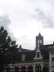 domtoren (indigo_jones) Tags: holland netherlands weather skyline architecture clouds utrecht domtoren rooftops gothic nederland stormy