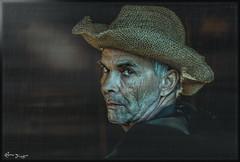 Hey you! (Bruno Frerejean (Bruno Mallorca)) Tags: portrait horse man male hat spain retrato portraiture thegimp mallorca strongfeatures