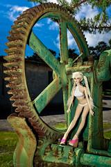 Machinery (abs plastic) Tags: becca doll industrial machine bjd bianca gears iplehouse nyid peachgold