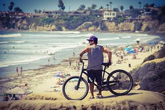 Overlooking the cliff (mxstrings12) Tags: beachcruiser beach lajolla fe24240mm sony a7s sonya7s mykeyyyphotography