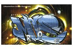 6920 (Massimiliano Fattizzo p.) Tags: street blackandwhite italy streetart milan colors graffiti colours milano colori