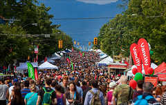 Italian Day on Commercial Drive [Explored] (Clayton Perry Photoworks) Tags: people canada vancouver spring bc commercialdrive crowds italianday explorebc explorecanada dailyhivevan