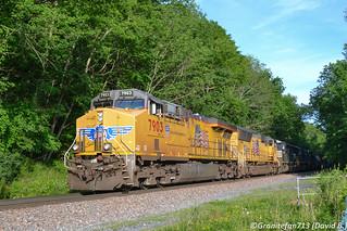 UP 7903 GE C45ACCTE (11A)