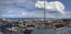 Helsinki Panorama (Rd. Vortex) Tags: summer panorama 6 clouds landscape helsinki motorola maisema nexus kes pilvet pilvipouta poutainen