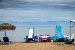 Ready To Make A Splash (Number Johnny 5) Tags: sea beach boats outdoors nikon greece d750 slides tamron corfu sidari 2016 2470mm