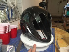 Obsidian Mind WIP4 (Tsabo Tsaboc) Tags: destiny warlock costume cosplay helmet armor sfx imapct props bungie