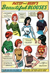 Patsy and Hedy Career Girls 108 -- Patsy and Hedy's Beautiful Blouses (FranMoff) Tags: fashion women style redhead blouses patsyandhedy