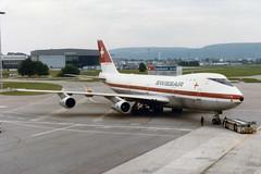 """Swissair Boeing 747-257 HB-IGA  """"Genf"""" (Kambui) Tags: airplane schweiz switzerland airport suisse suiza zurich airplanes sua planes boeing zrich svizzera boeing747 747 jumbo aviones avions kloten swissair genf zrh flugzeuge  avies  aeroplani kambui  hbiga boeing747257"""