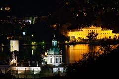 Como by night (@lbyper) Tags: city italy lake monumento duomo lombardia volta lario d300 villaolmo signa150600s