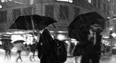 Rainy Night (Explored) (bigboysdad) Tags: street blackandwhite bw monochrome au sydney australia monotone newsouthwales gr ricoh