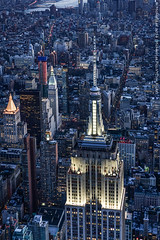 Aerial New York - March 2016 (DSC00388) (Michael.Lee.Pics.NYC) Tags: newyork architecture sony aerial helicopter esb empirestatebuilding midtownmanhattan dooroff fe55mm18 flynyon a7rm2