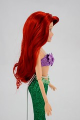 2016 Ariel Classic 12'' Doll - US Disney Store Purchase - Deboxed - Standing - Midrange Left Side View (drj1828) Tags: disneystore doll 12inch classicprincessdollcollection 2016 ariel purchase deboxed standing