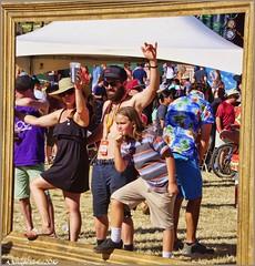 Posing (AJVaughn.com) Tags: park new arizona people beach beer colors bike bicycle sport alan brewing de james tour belgium bright cosplay outdoor fat parade bicycles vehicle athlete vaughn tempe 2014 custome ajvaughn