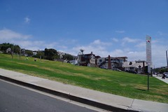 Bruce's Beach Park (kristenlanum) Tags: ocean california blue summer sky beach water losangeles pacific manhattanbeach