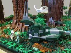 Ewokdorf - Forest Ranger (KW_Vauban) Tags: starwars lego endor ewokvillage episodevi thereturnofthejedi