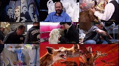 This Composed photograph here illustrates the scenes seen in the episode 3 of the Immortralized, season 1. Immortalizer Dr. Takeshi Yamada, Challenger Mike McCulloch and their taxidermy artworks as well as one of Judges, Paul Rhymer is seen here. (searabbits23) Tags: ca ny newyork sexy celebrity art hat fashion animal brooklyn asian coneyisland japanese star tv google king artist dragon god vampire famous gothic goth uma ufo pop taxidermy vogue cnn tuxedo bikini tophat unitednations playboy entertainer oddities genius mermaid amc mardigras salvadordali performer unicorn billclinton billgates aol vangogh curiosities sideshow jeffkoons globalwarming mart magician takashimurakami pablopicasso steampunk losangels damienhirst cryptozoology freakshow leonardodavinci realityshow seara immortalized takeshiyamada roguetaxidermy searabbit barrackobama ladygaga climategate