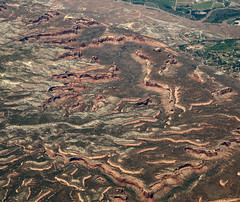 2016_06_02_lax-ewr_538 (dsearls) Tags: monument flying colorado desert plateau aviation united sightseeing canyon aerial coloradoriver agriculture ual arid unitedairlines windowseat windowshot themonument coloradonationalmonument monumentcanyon laxewr 20160602