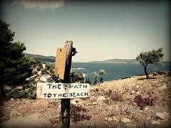 the path to the beach (A Sunny Day We Shall Go) Tags: paths