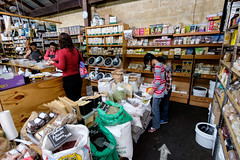 Quite similar to our dry goods market (Stinkee Beek) Tags: erin ethan fremantle yewyen