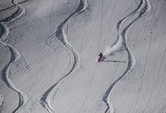 Slide down the mountain (aurlien.leroch) Tags: alpes alps france savoie laplagne slide ride snow neige mountain ski nikon d7100 sport