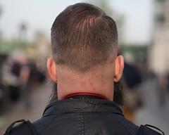 from behind (Cosimo Matteini) Tags: pen beard back head olympus frombehind m43 mft michaelwhite ep5 cosimomatteini mzuiko45mmf18