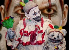 Twisty the Clown (l plater) Tags: cosplay freakshow sydneyolympicpark americanhorrorstory twistytheclown supanovaexposydney2016