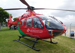 G-WASN (goweravig) Tags: uk swansea wales aircraft airshow helicopter foreshore eurocopter ec135 swanseabay 2016 waa gwasn walesnationalairshow wnas16