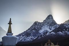 Tengboche Stupa (Adept Photography) Tags: nepal stupa monastery nepalese yaks everest himalayas 2016 tengboche stupas