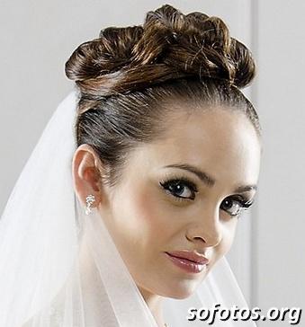 Penteados para noiva 130