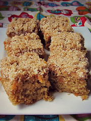 Coconut Carrot Slice (PaisleyJade) Tags: recipe yummy yum coconut delicious slice carrot