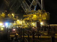 s7000 nite (thulobaba) Tags: industry norway construction energy offshore platform engineering gas jacket northsea oil eldfisk