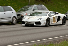 Lamborghini Aventador @ Gumball 3000 (K3ntFIN) Tags: park copyright car race speed canon finland fun for spring outdoor may exotic dos 7d expensive premier 3000 gumball 2013