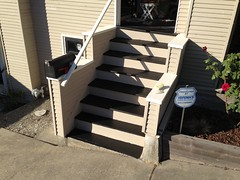 1,000,000x Better (lisawiz) Tags: sand paint steps repair porch homeimprovement