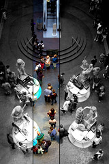 Natural History Museum (n&s I Photography) Tags: greatbritain light people building cute london art history love museum architecture cutout d50 idea photo big arquitectura nikon europe flickr day dof arte place gente live edificio creative we escultura londres moment espacio nahikarisergio