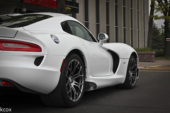 IMG_6242 (kcoxphoto) Tags: white track pack avenue viper conner assembly srt 2013